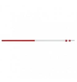 Perche télescopique 218-561 cm, rouge/gris